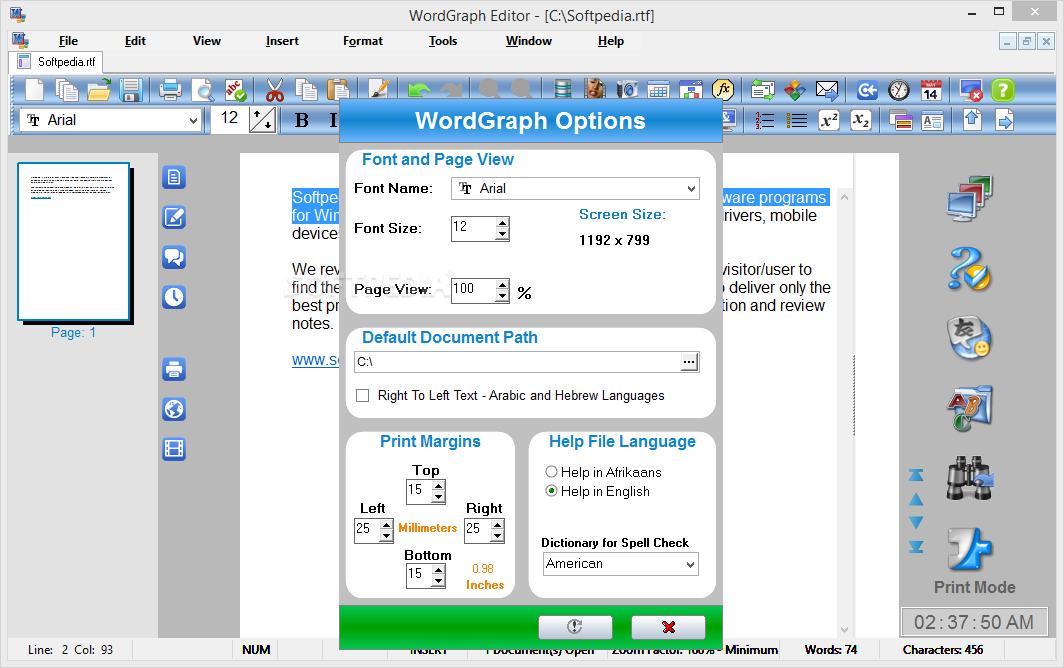 Download Ssuite Wordgraph Editor 8 48 8