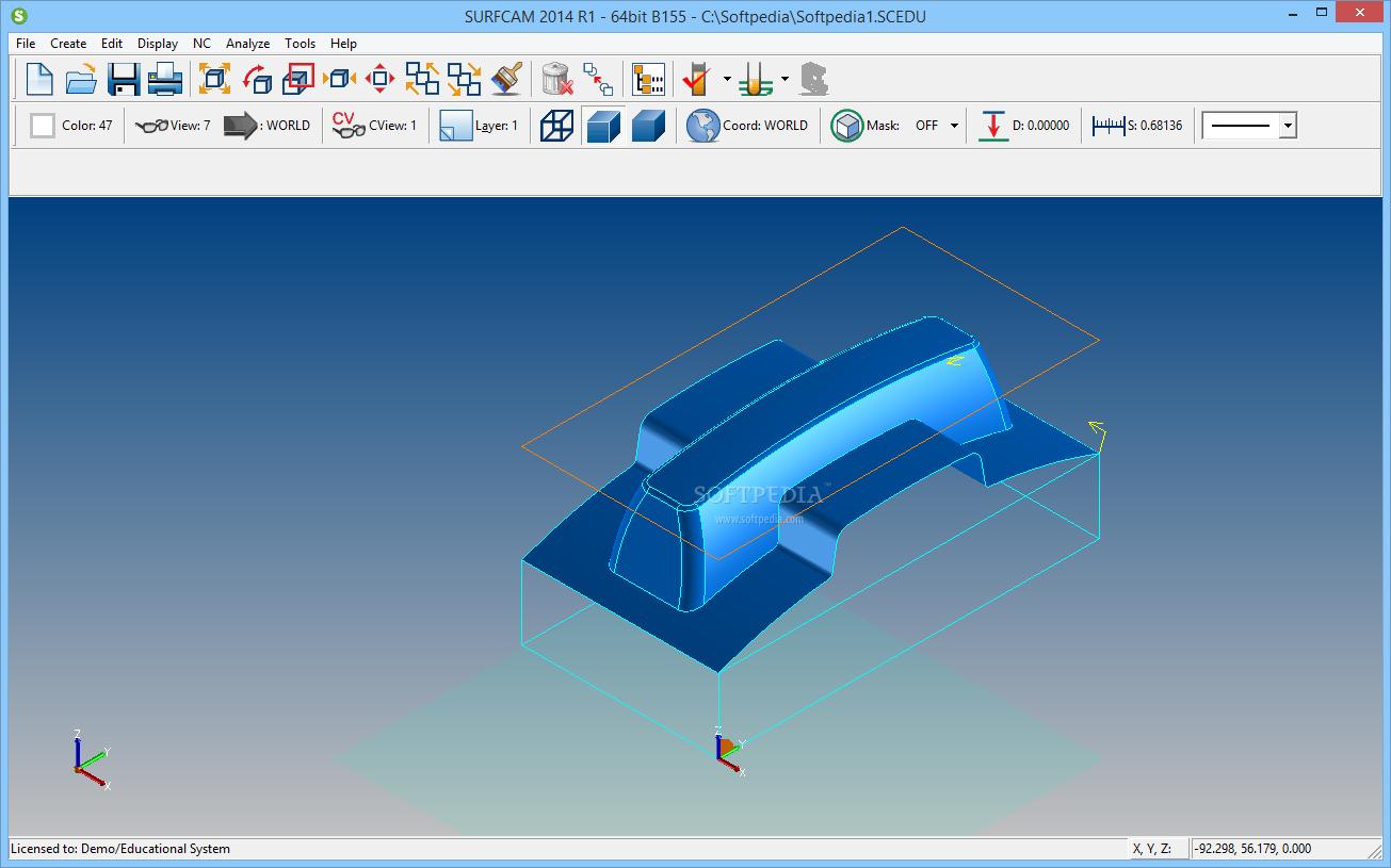 Descarga de software SurfCAM 2015 R2