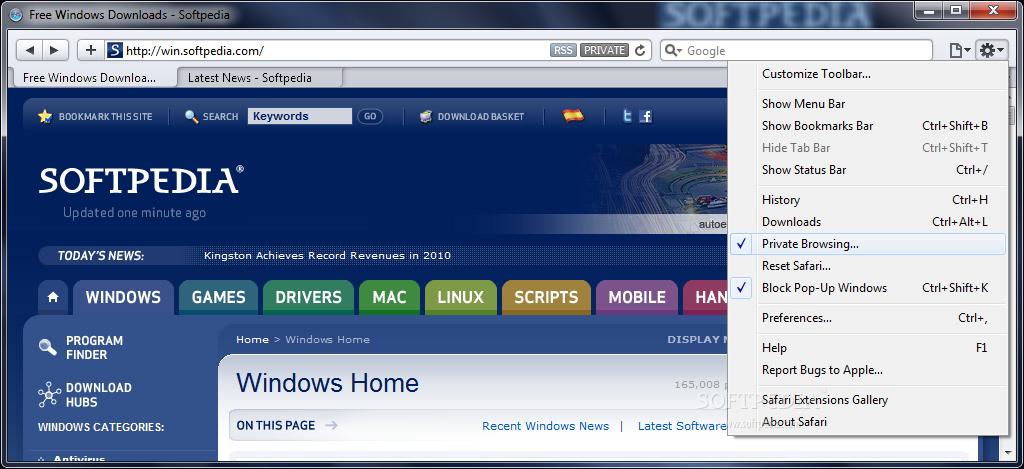 Download Safari Browser 5 1 7