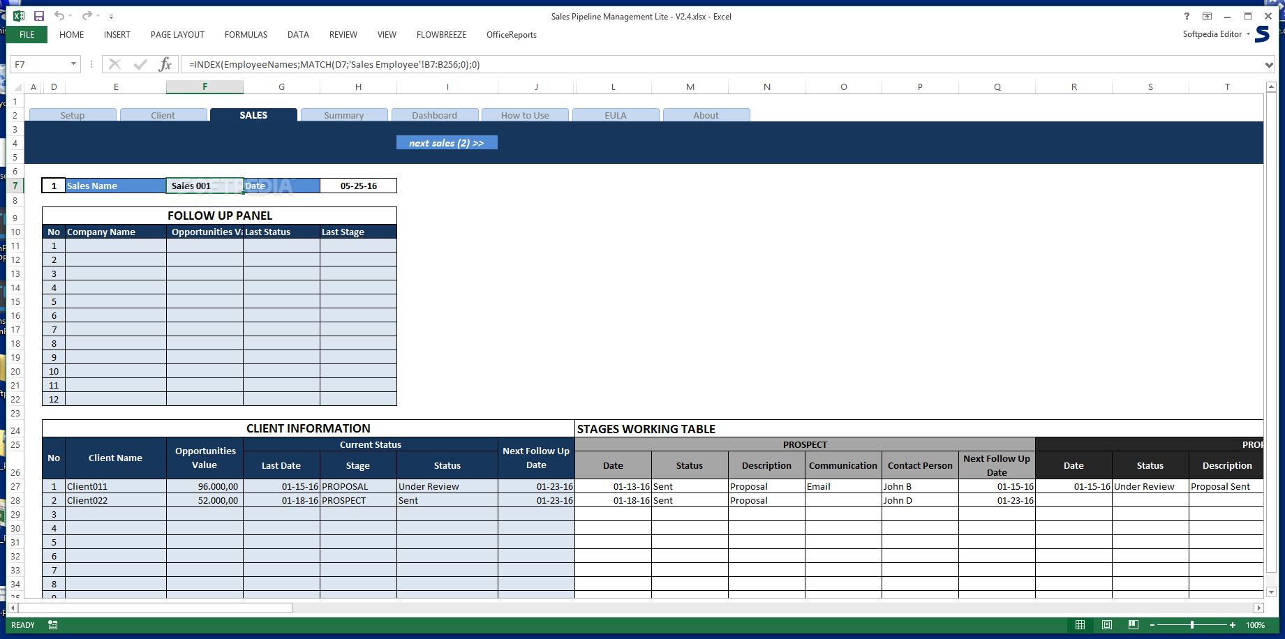 download sales pipeline management lite 2 4