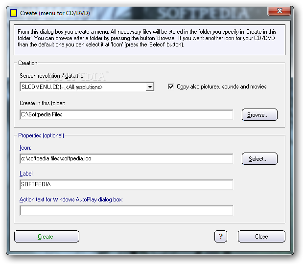 Samlogic cd menu creator download for Autoplay menu builder templates
