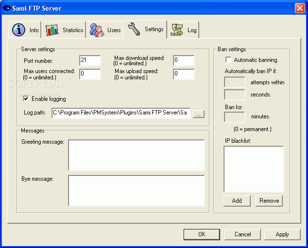 how to get the logins for ftp