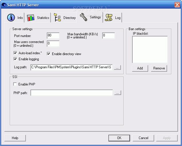 Download Sami HTTP Server 2 0 1