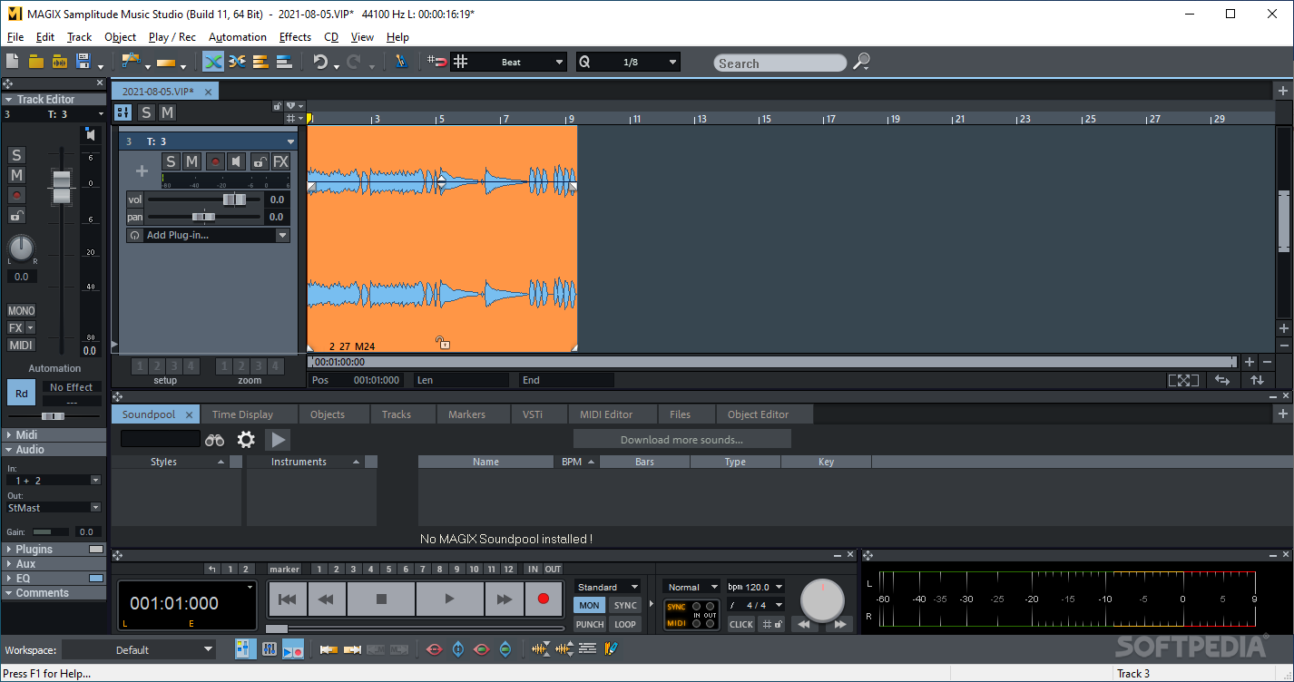 samplitude music studio 15 mac
