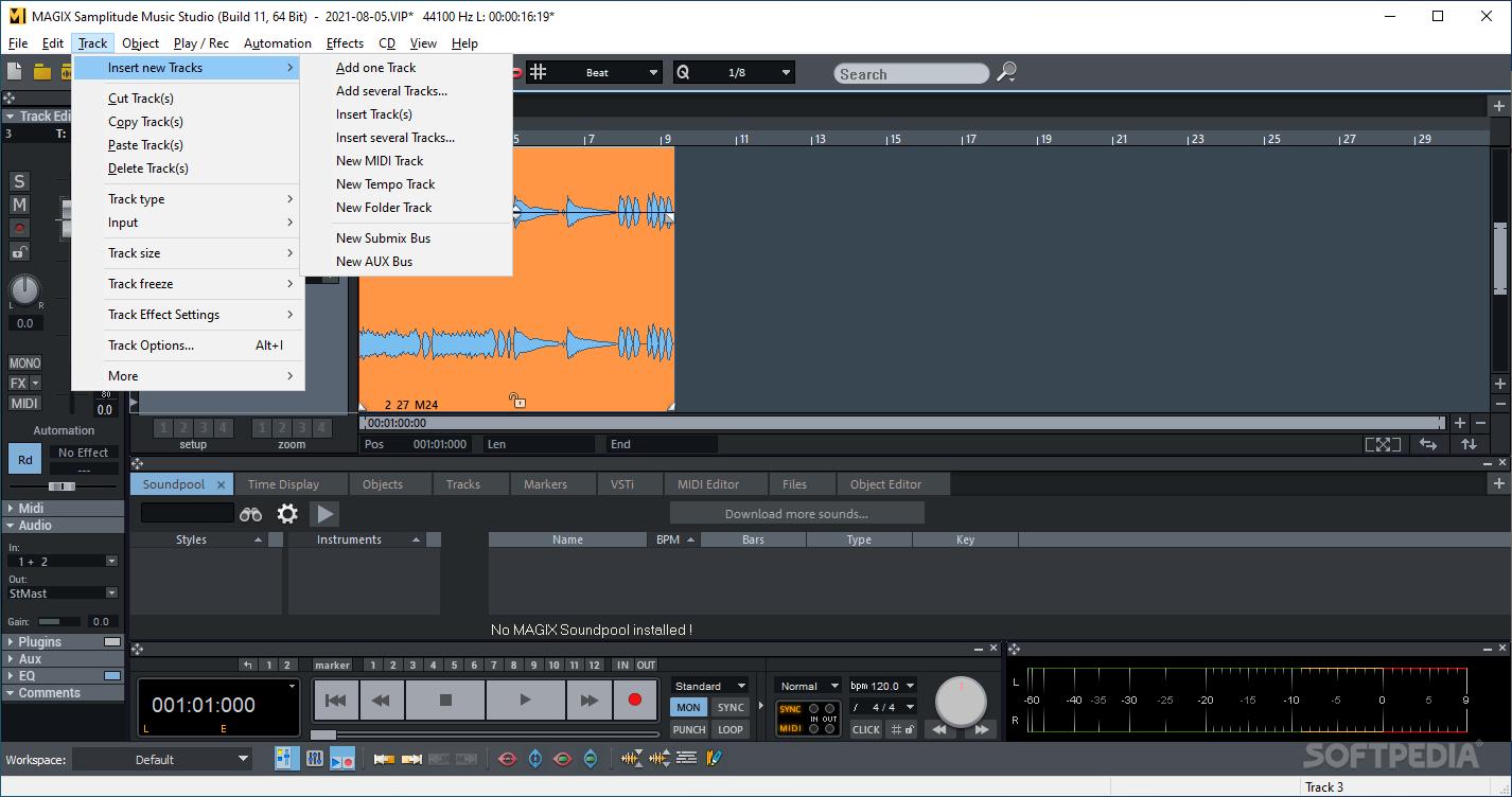 Cubase free Alternative - Audio Mixing Software - nch.com.au
