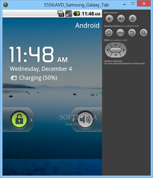 Download Samsung GALAXY Tab Emulator