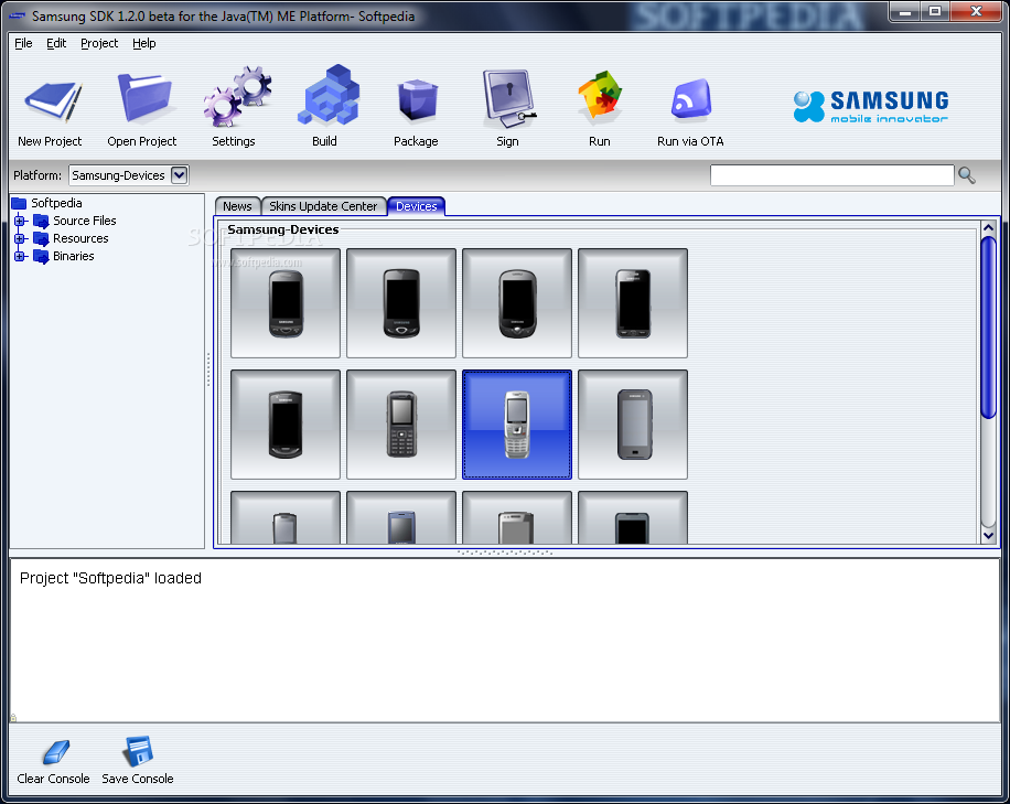 Download Samsung Java SDK 1 2 2