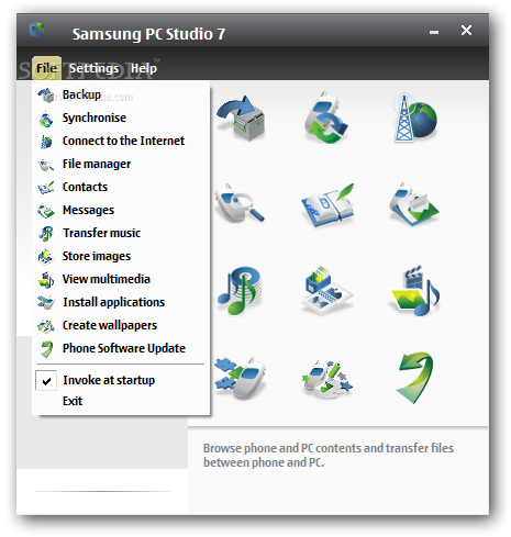 pc suite samsung gt-s3650