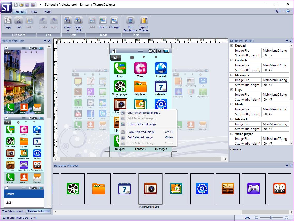 Theme Editor Samsung