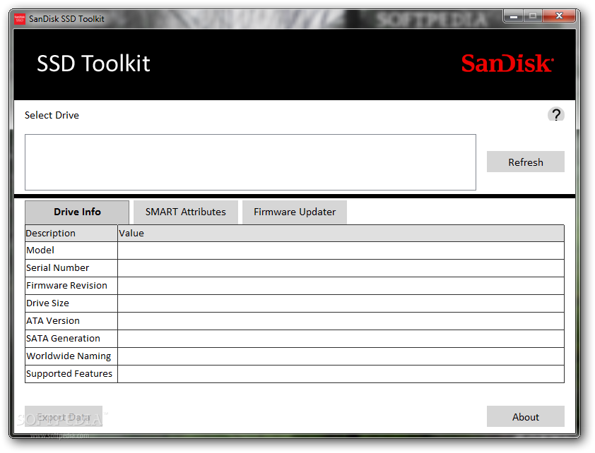 Download SanDisk SSD Toolkit 1 0 0 1