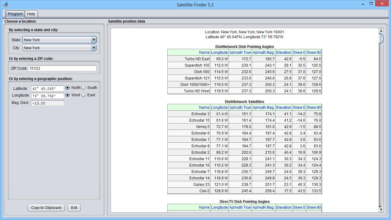 Download Satellite Finder 5 5 Build 1422