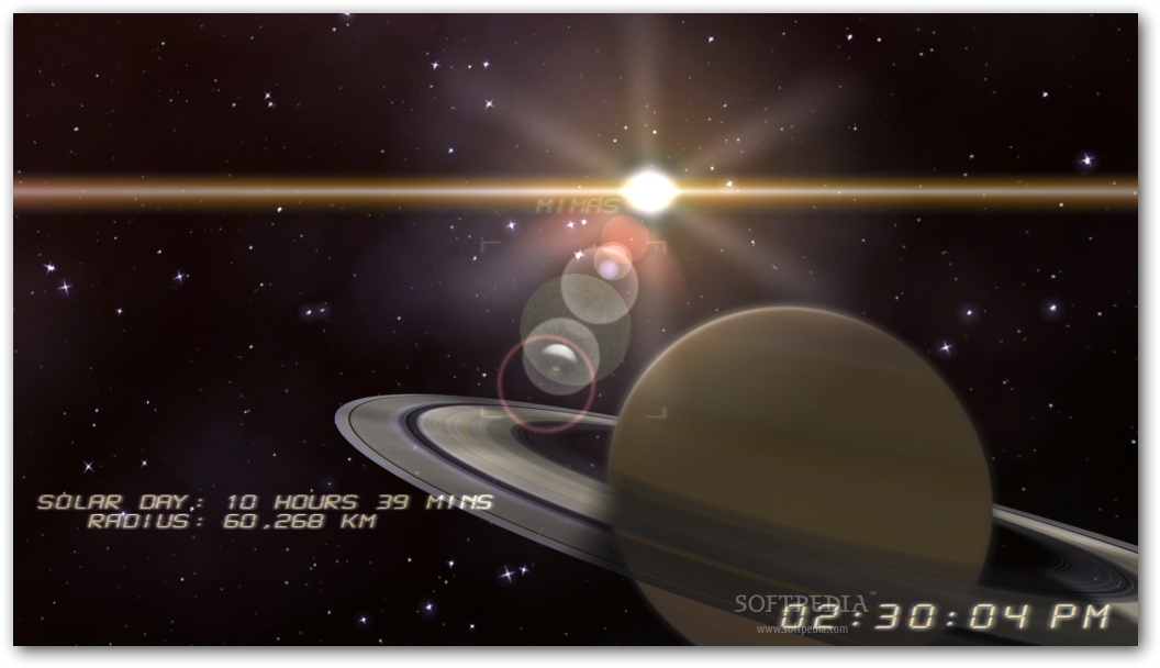 saturn of moving planets screensaver - photo #13