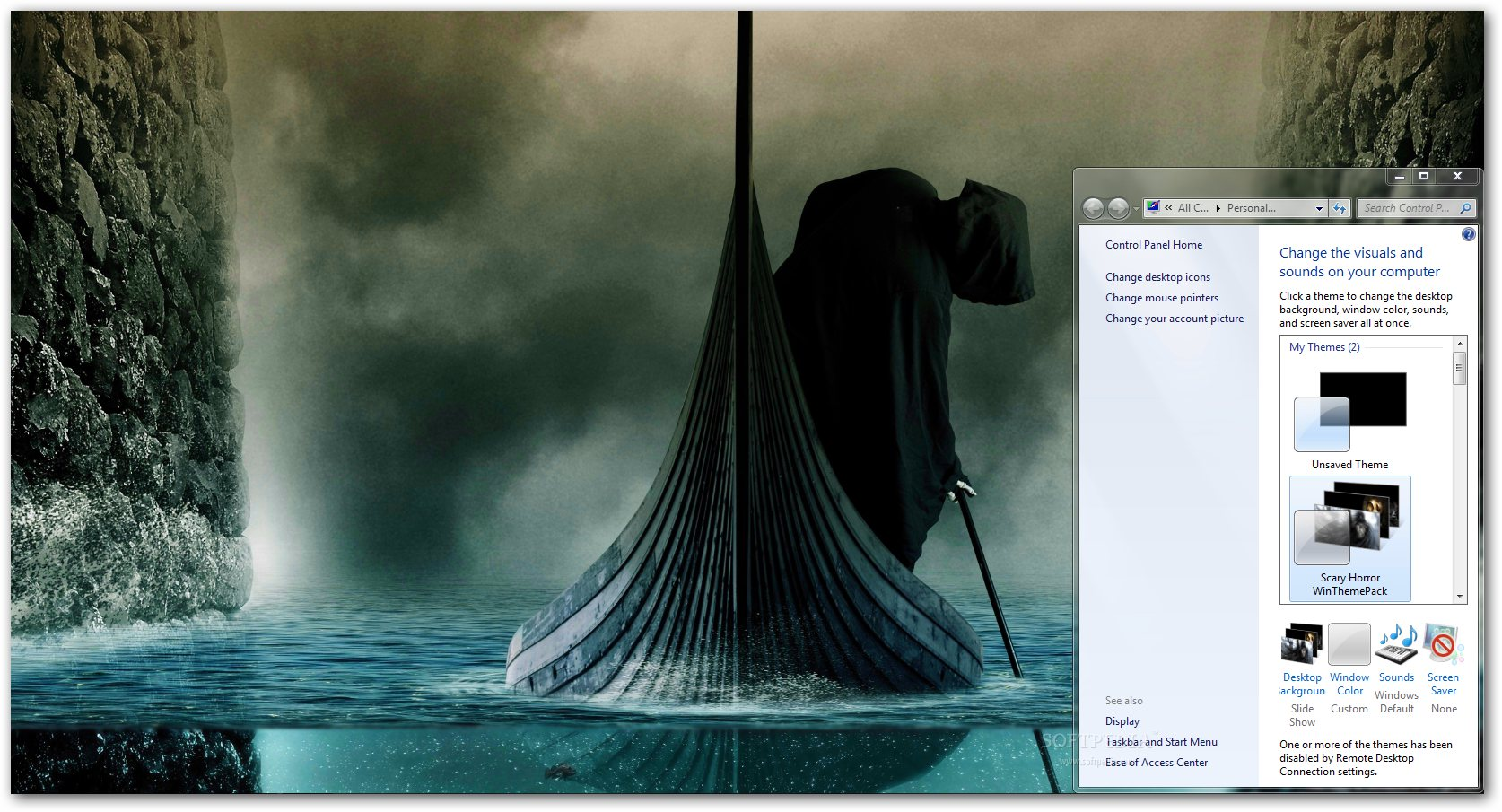 Download Scary Horror Windows Theme 1.0