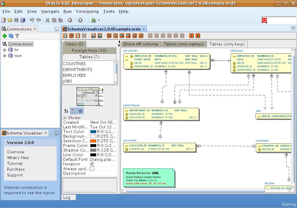 Download schema visualizer for sql developer 213 ccuart Images