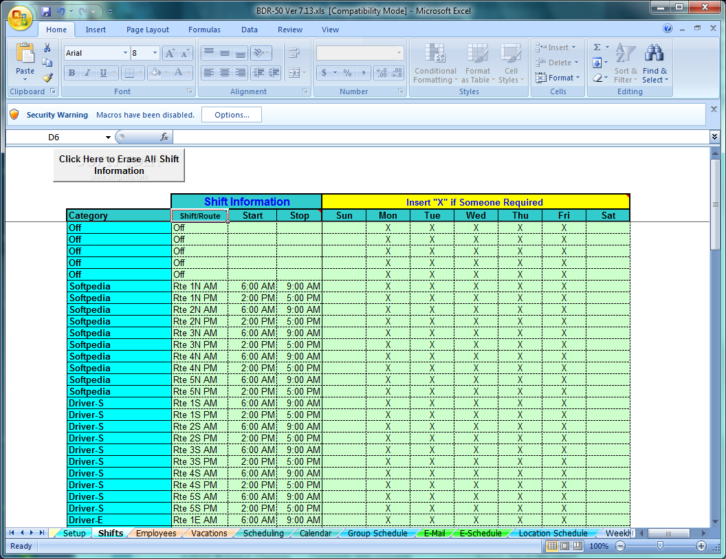 bus schedule spreadsheet download school bus driver and route