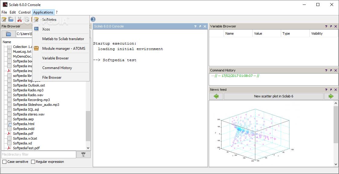 scilab 32 bits