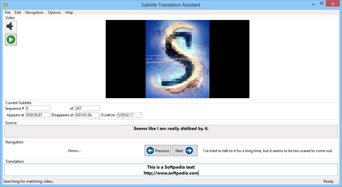 Download Subtitle Translation Assistant (formerly Script