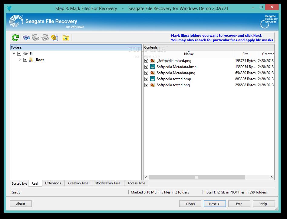 Seagate File Recovery for Windows - Demo - EN