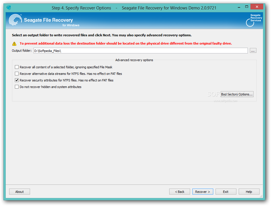 Seagate file recovery torrent
