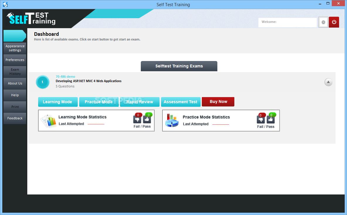 Download Self Test Training Microsoft 70 486 100
