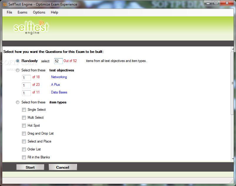 Download SelfTest Engine 3 01