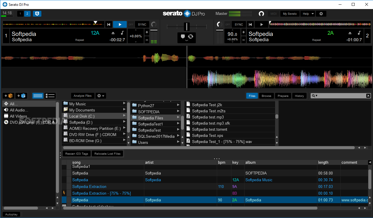 serato dj 1.8 for mac free download
