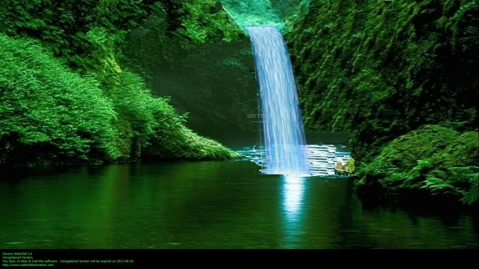 download serene waterfall 30