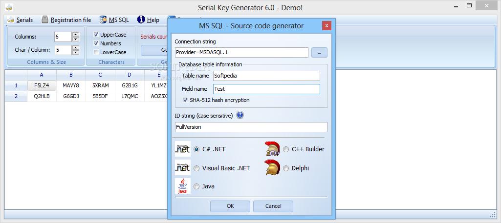 software serial key generator