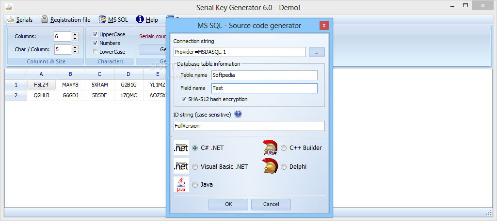 free serial key generator for any program