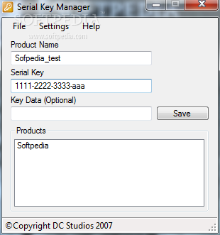 Download Serial Key Manager 1 8