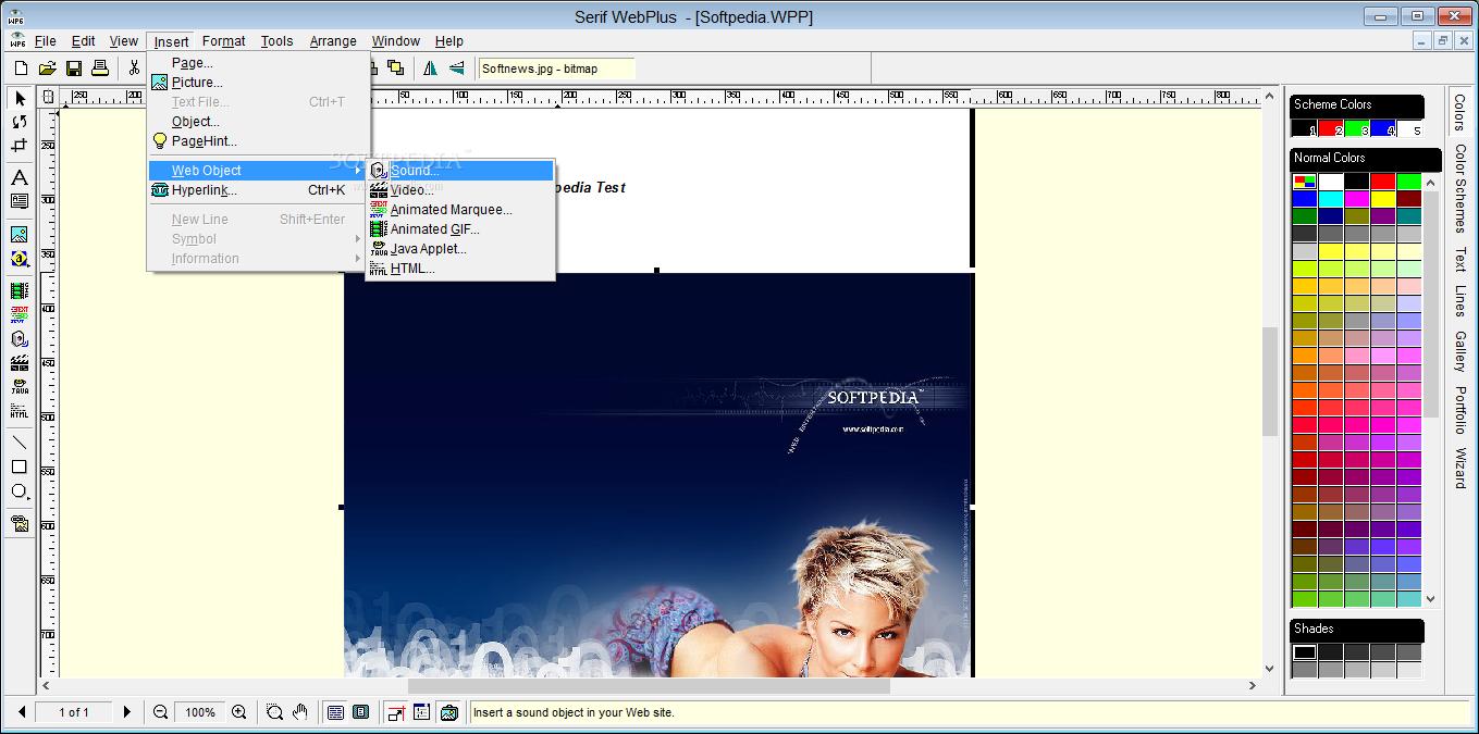 Download Serif WebPlus 6.05