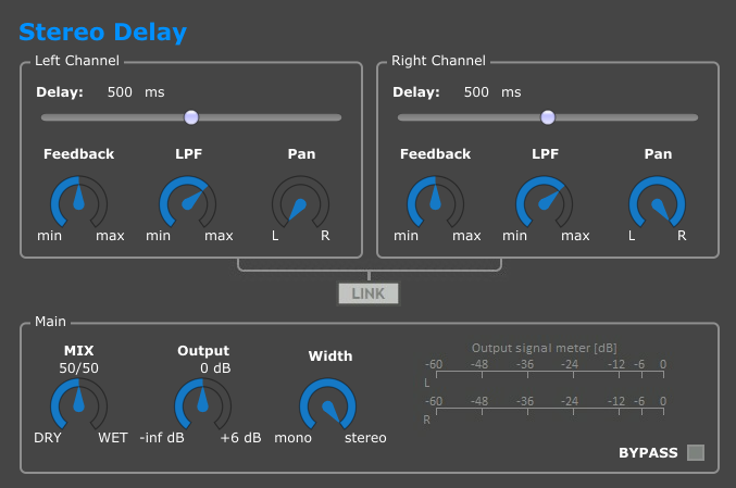 Download Stereo Delay 0 1 Beta