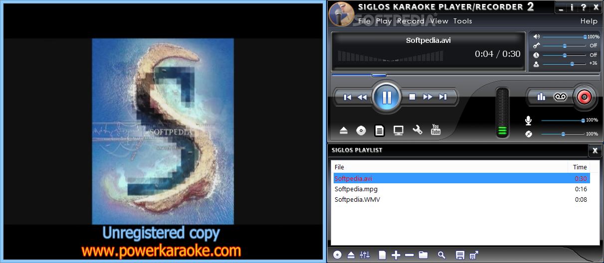 Download Siglos Karaoke Player/Recorder 2 2 1 10