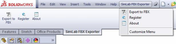 Download SimLab FBX Exporter for SolidWorks 3 0