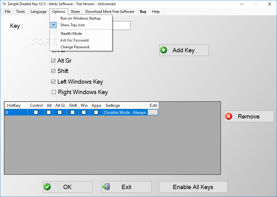 Download Simple Disable Key 10 1