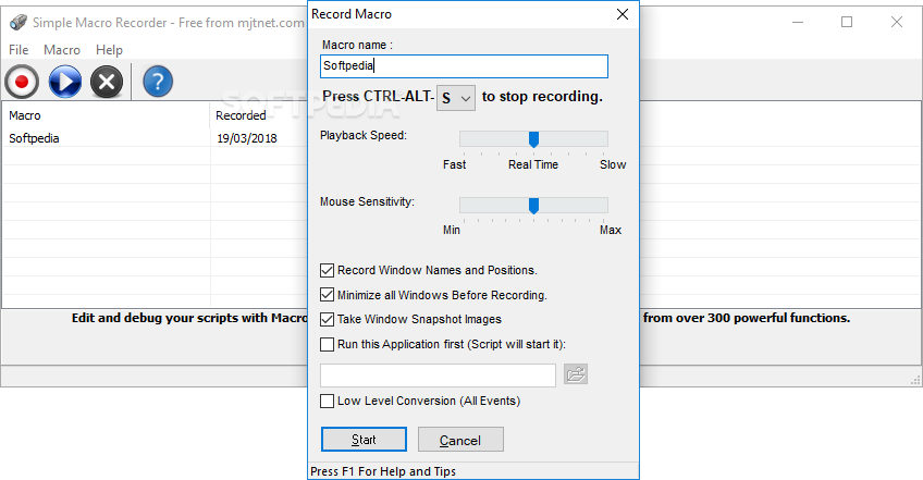 Download Simple Macro Recorder 1 0 0 0