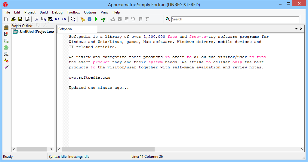 Download Approximatrix Simply Fortran 3 5 Build 3088
