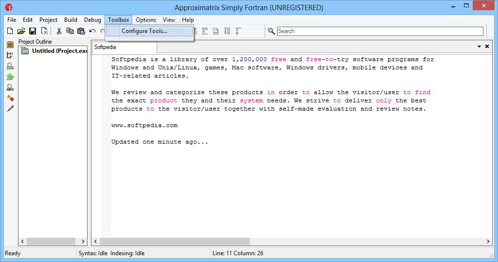 Download Approximatrix Simply Fortran 3 5 Build 3088