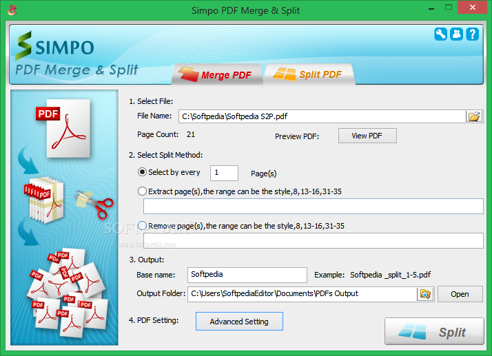 simpo pdf merge and split 2.2.1.0