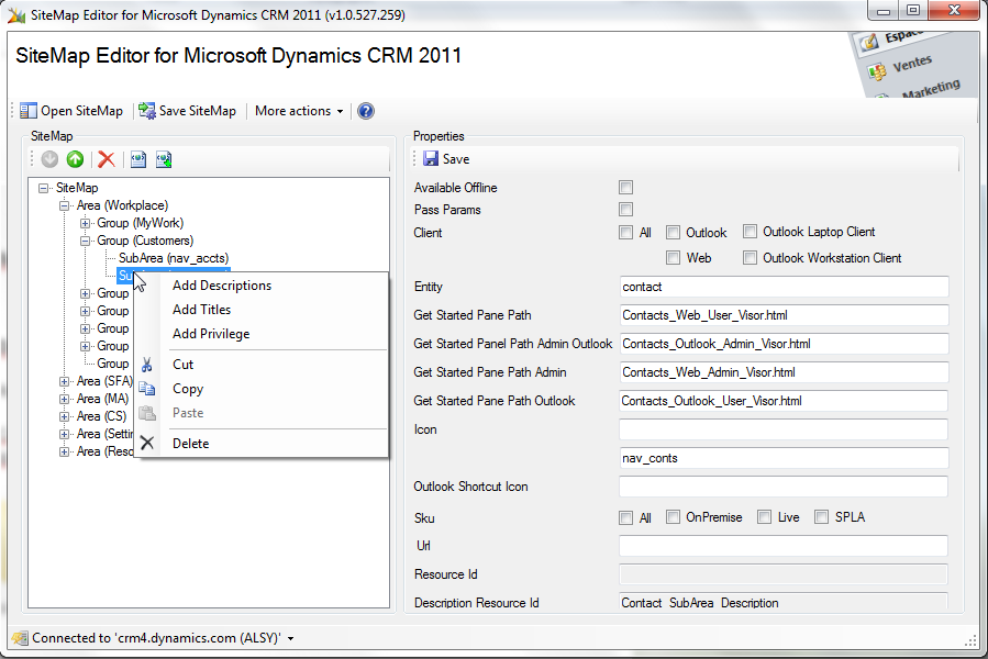 download sitemap editor for microsoft dynamics crm 2011 1 1 1209 383