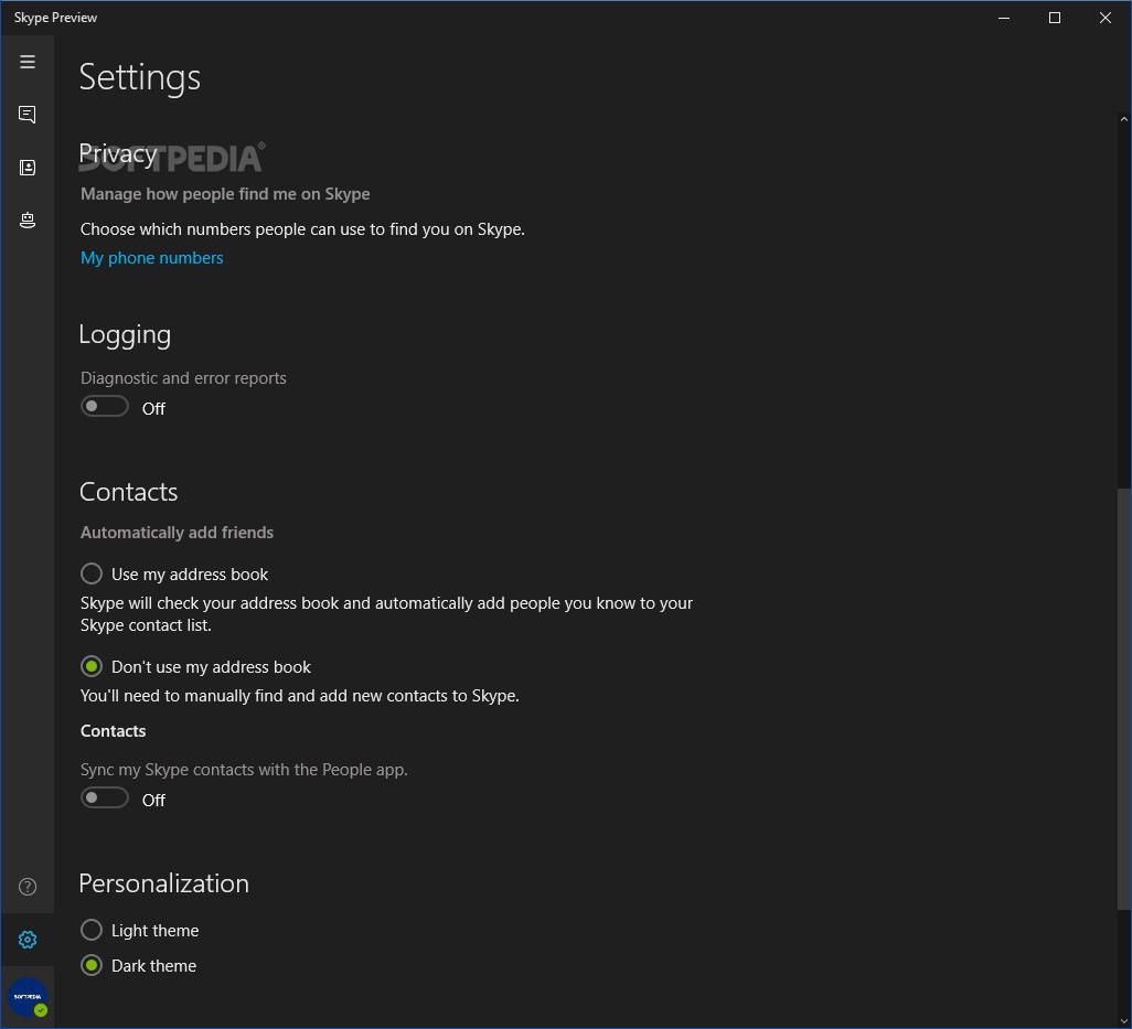 Download Skype for Windows 10 14 41 54 0