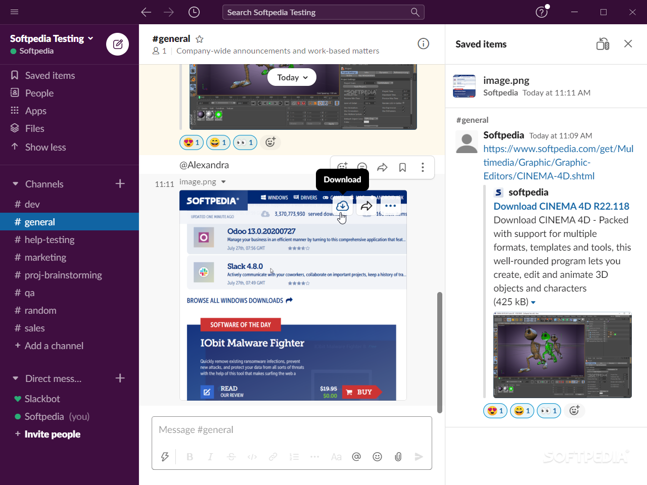 Instant Messaging Slack : Download slack