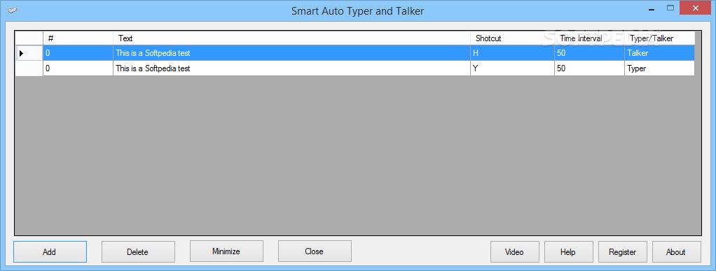Download Smart Auto Typer and Talker 2 2 2