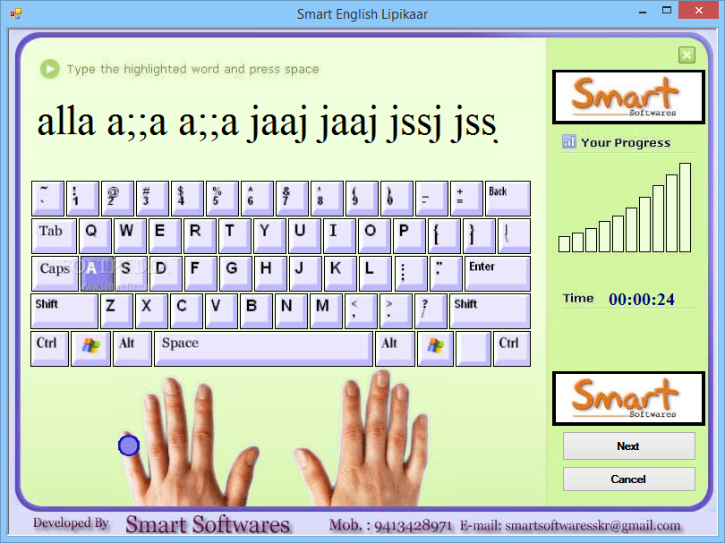 hindi typing software for pc full version