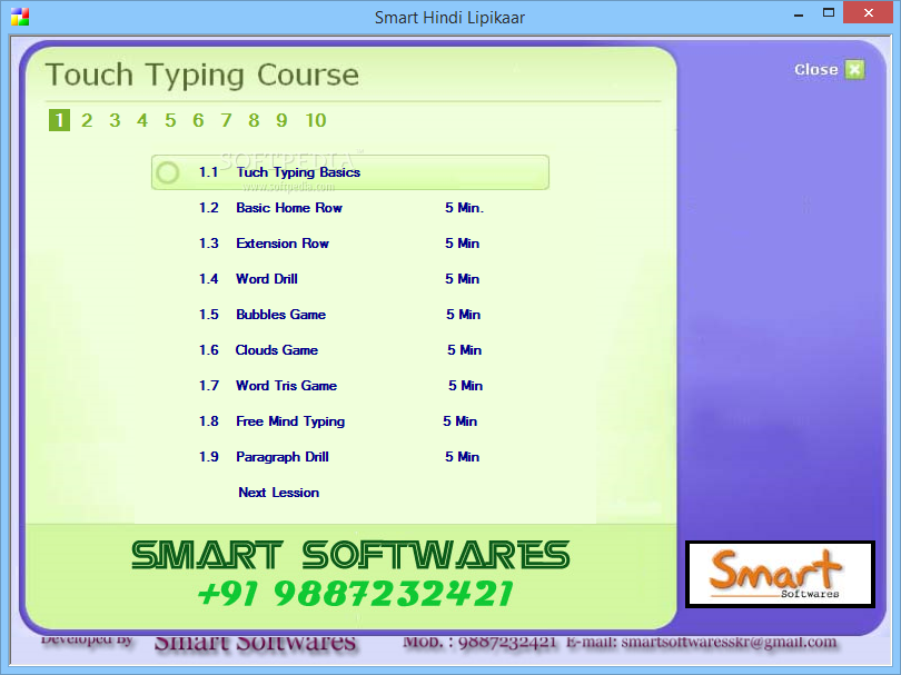 Hindi Typing Tutor and Typing Test online - Best website