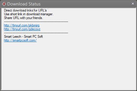 Download Smart Leech 1 2 0