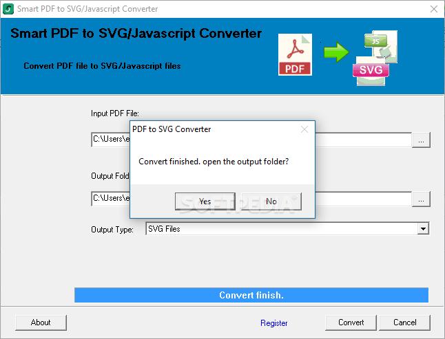 Download Smart PDF to SVG/Javascript Converter 2 0