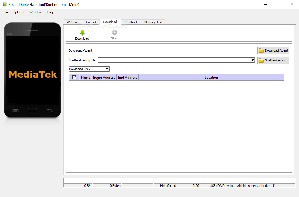 Download Smart Phone Flash Tool (SP flash tool) 5 1824