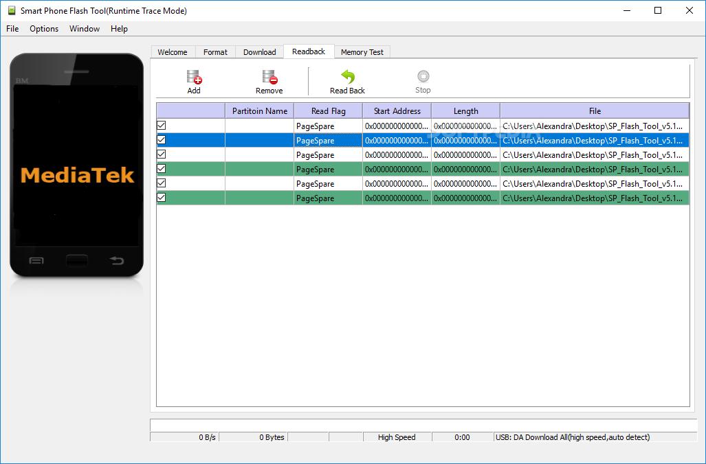 Download Smart Phone Flash Tool (SP flash tool) 5 1824