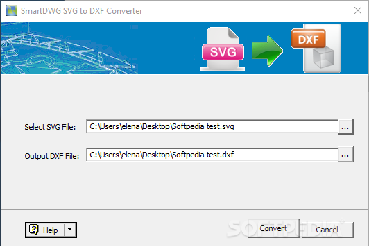 Download SmartDWG SVG to DXF Converter 1 8
